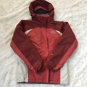 The North Face Burgundy Ski Snowboard Jacket Coat